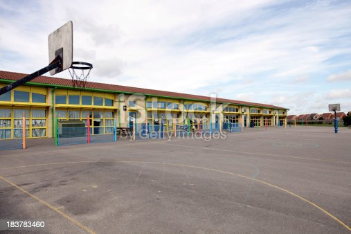 1045032684 istock photo School building and playground 183783460