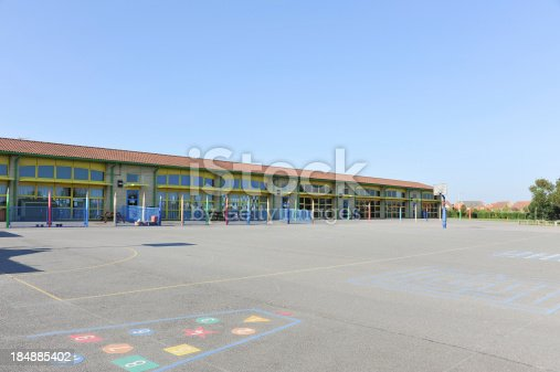1045032684 istock photo School building and playground 184885402