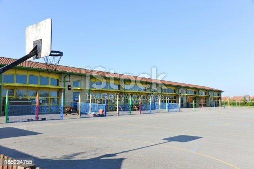 1045032684 istock photo School building and playground 185224755