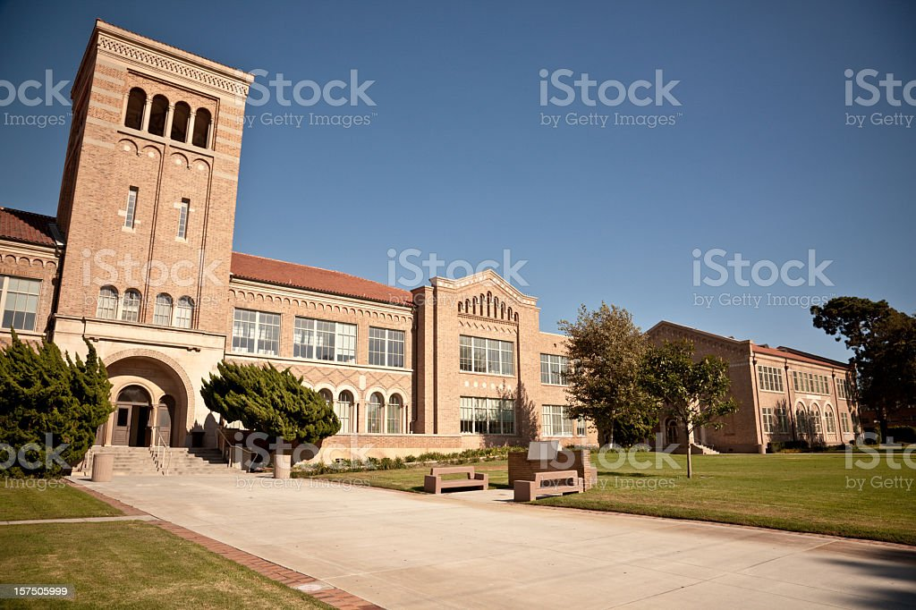 School Building royalty-free stock photo