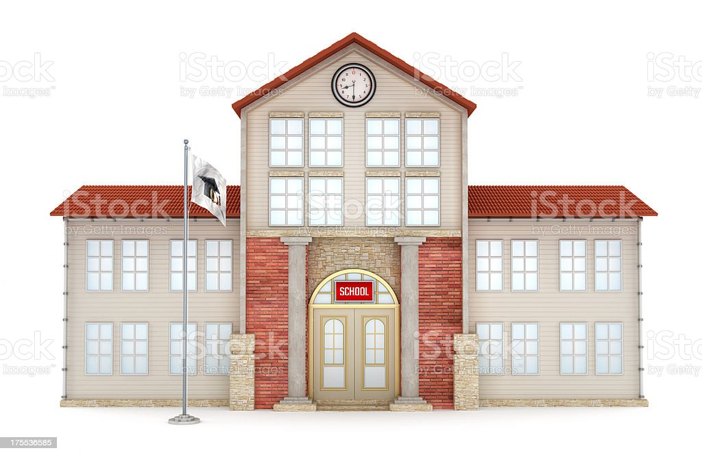 Construção de Escola - foto de acervo