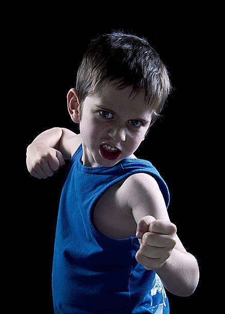 School Bully! stock photo