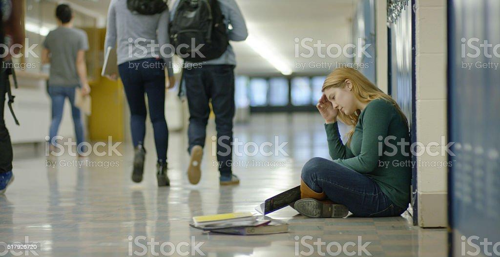 School bullying stock photo