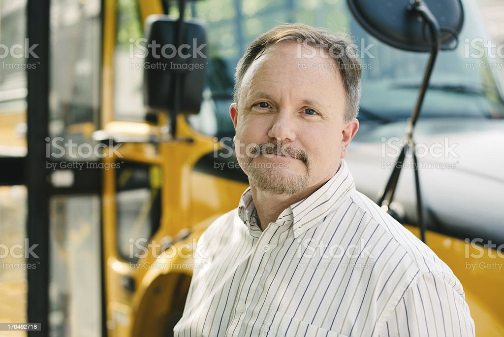 School Bus Driver stock photo