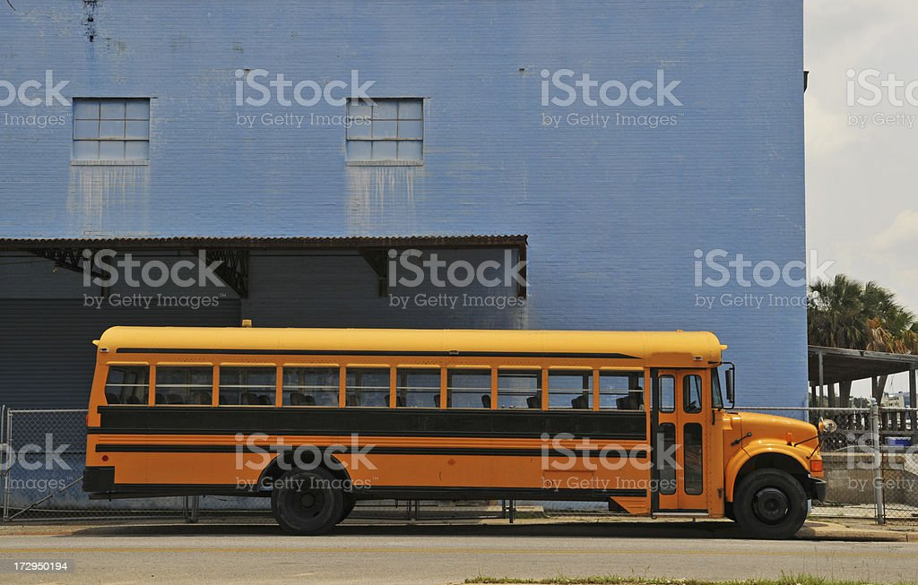 School Bus royalty-free stock photo