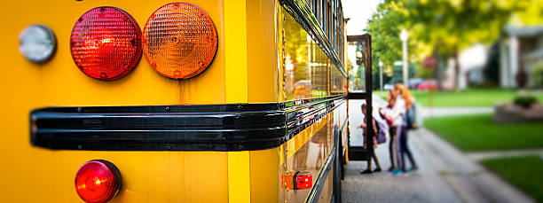 school bus - school bus stock photos and pictures