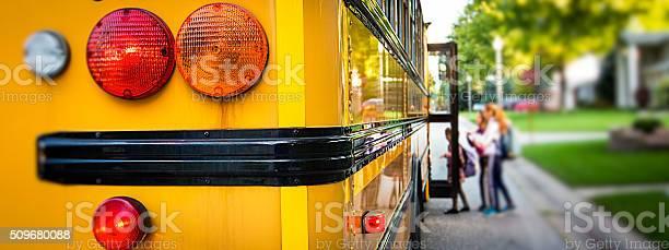 School Bus Stock Photo - Download Image Now