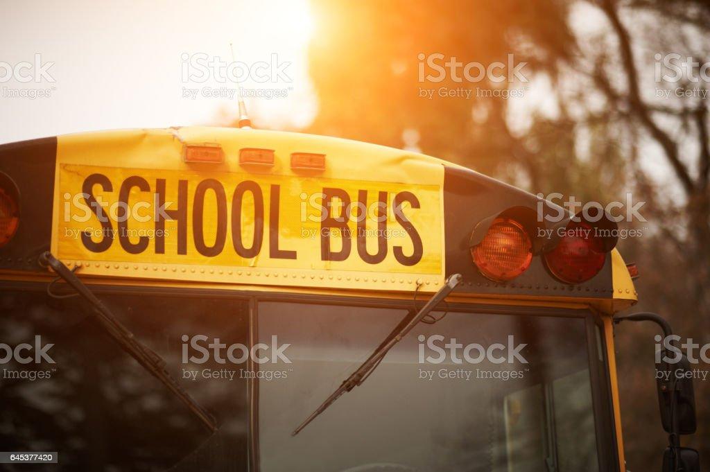 Ônibus Escolar  - foto de acervo