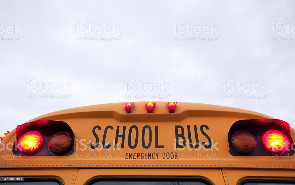 school bus warning lights stock photo more pictures of american