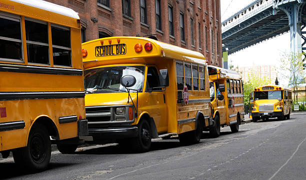 School Bus,NYC,USA