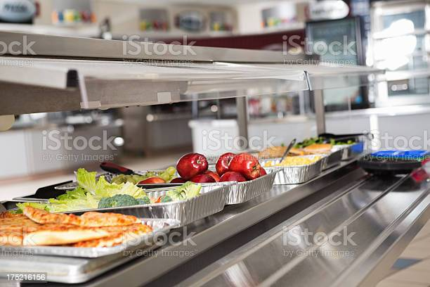 School cafeteria line with healthy and unhealthy food choices picture id175216156?b=1&k=6&m=175216156&s=612x612&h=qytmsxdfat8b53iwi 2sjeajvcirwue amy8gr5u1hi=