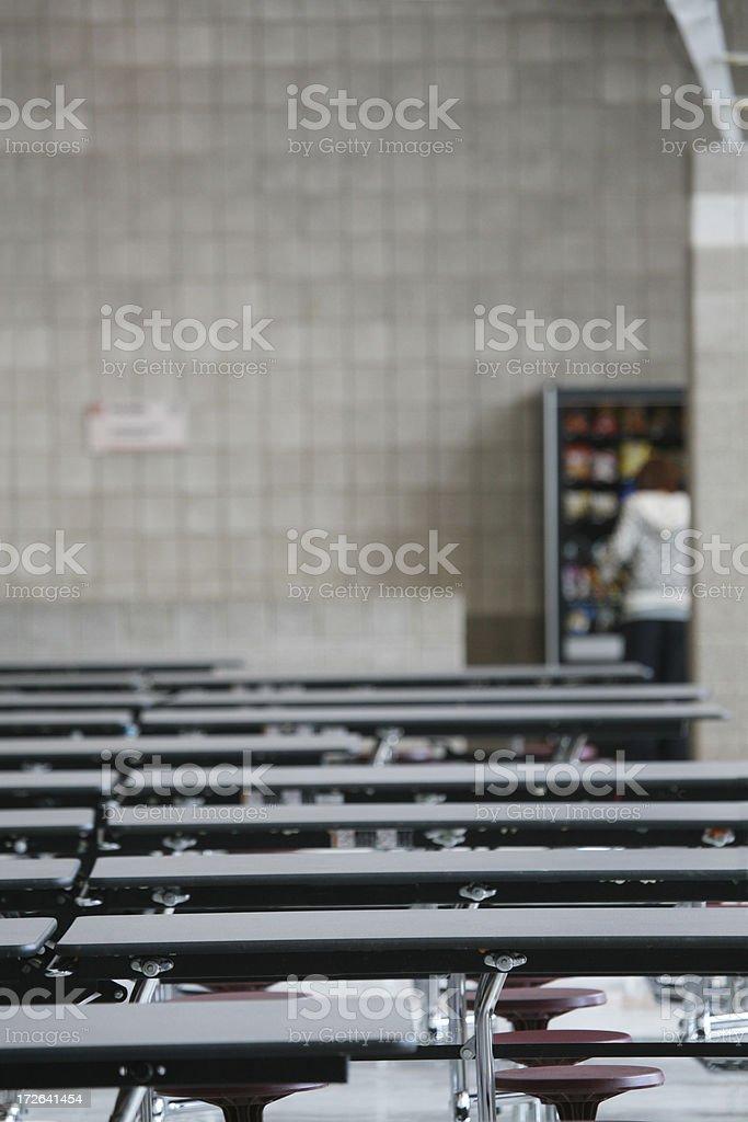 School Cafeteria Vending Machine royalty-free stock photo