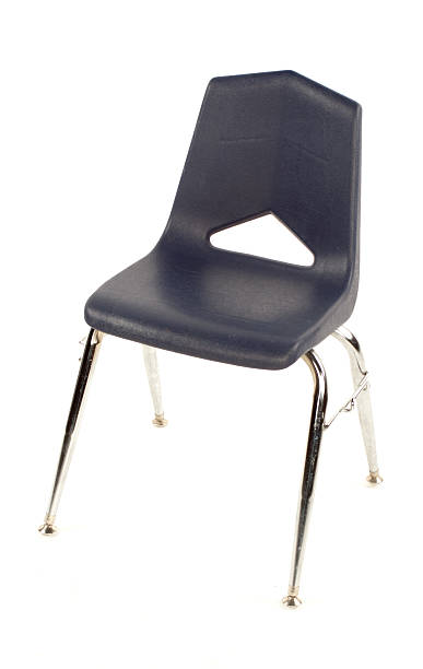 School Chair stock photo