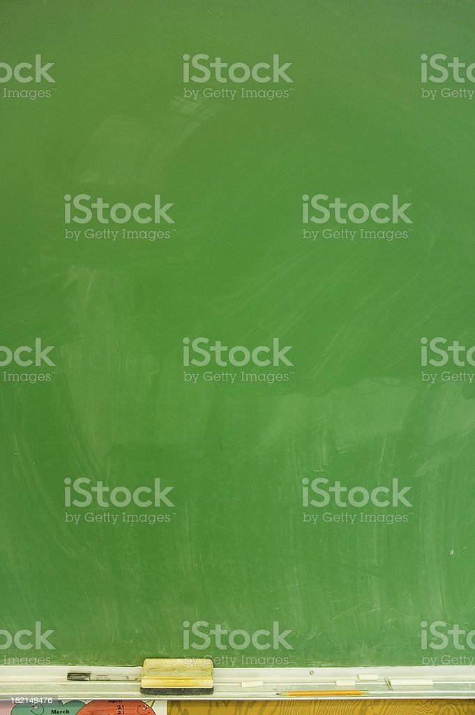 School Chalkboard 1 royalty-free stock photo