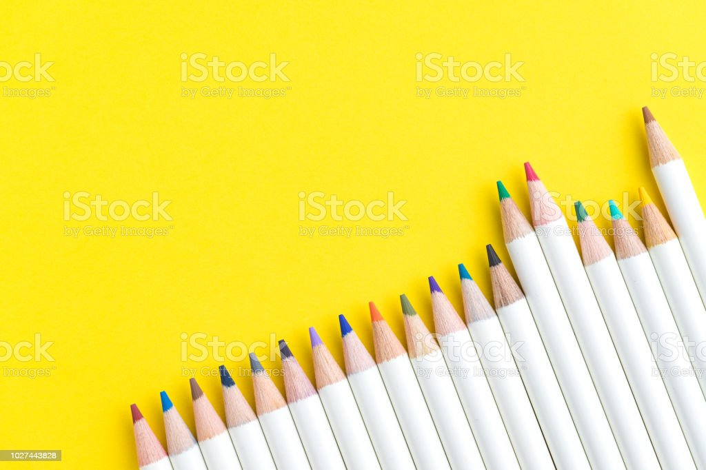Coloriage Adulte Materiel.Photo De Stock De Ecoliers Enfant Ou Adulte Materiel De Coloriage