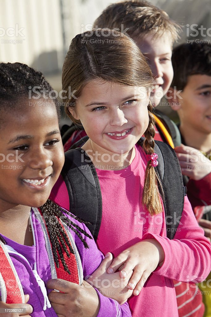 School children royalty-free stock photo