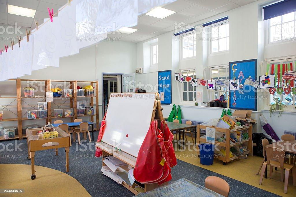 Interior de sala de aula de Escola - foto de acervo