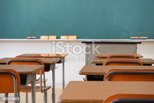 istock School classroom with blackboard 637548974
