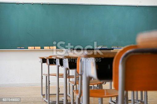 istock School classroom with blackboard 637549002