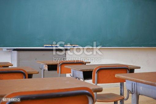 istock School classroom with blackboard 637549010