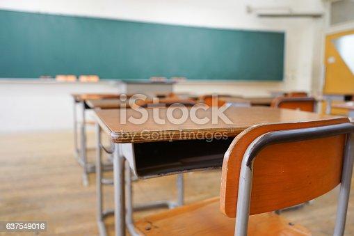 istock School classroom with blackboard 637549016