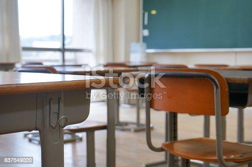 istock School classroom with blackboard 637549020