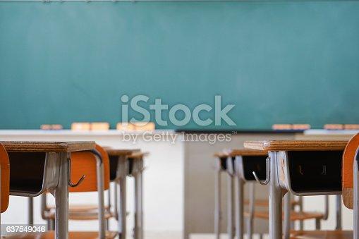 istock School classroom with blackboard 637549046