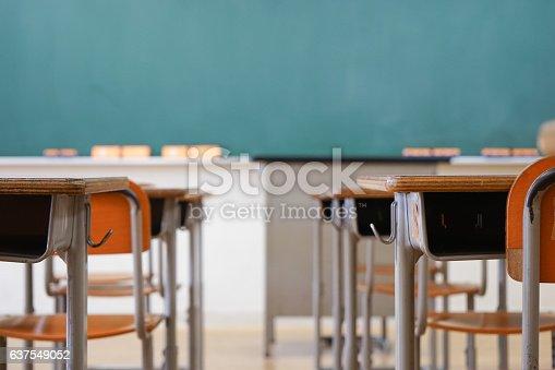 istock School classroom with blackboard 637549052