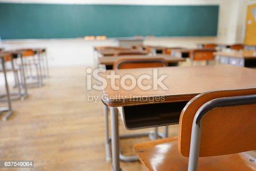 istock School classroom with blackboard 637549064