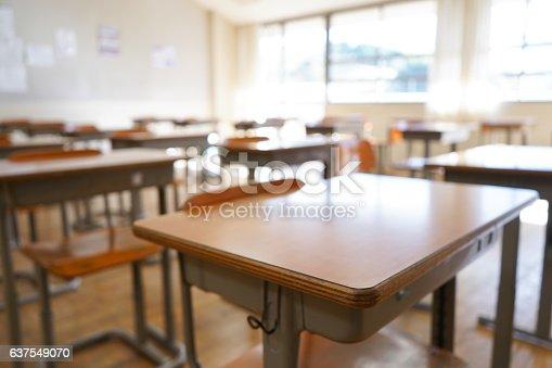 istock School classroom with blackboard 637549070