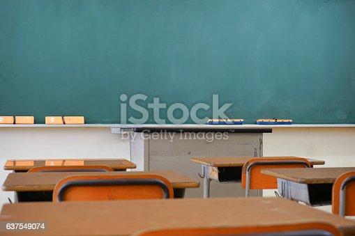 istock School classroom with blackboard 637549074