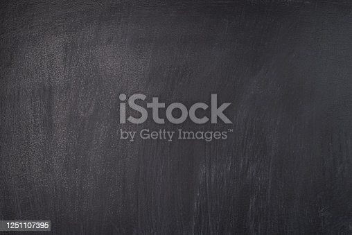 1062226450 istock photo School concept. Close-up photo of smudged black chalkboard 1251107395