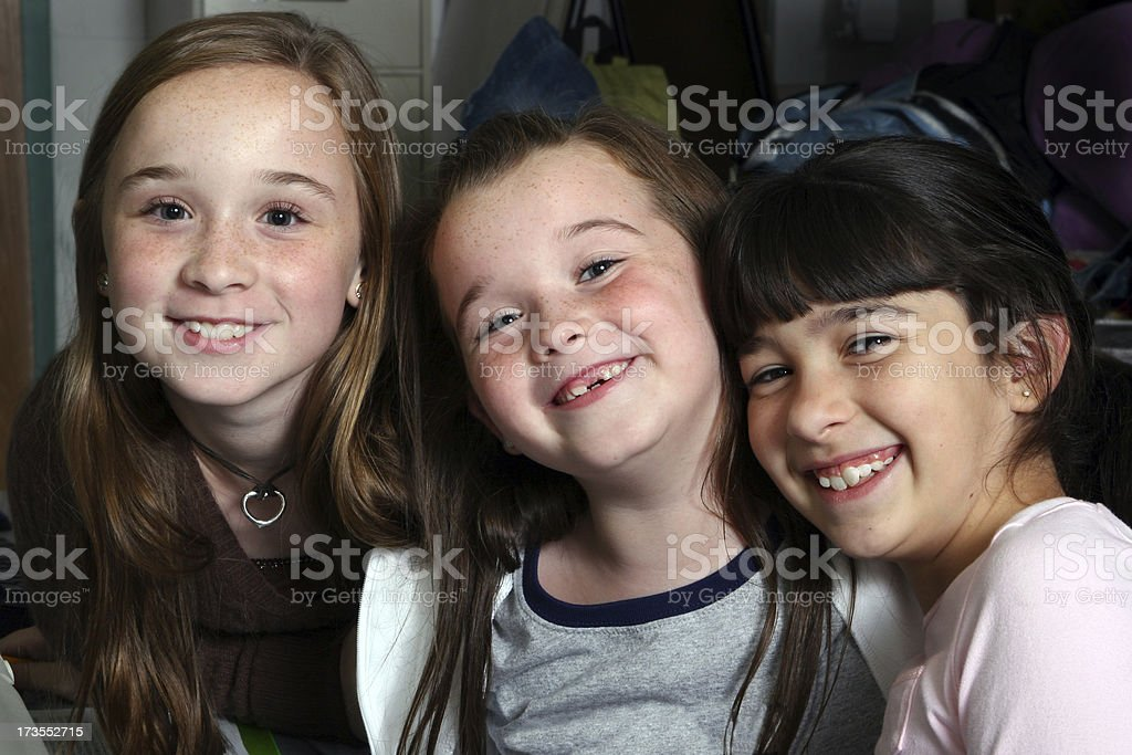 School Days - Classmates royalty-free stock photo
