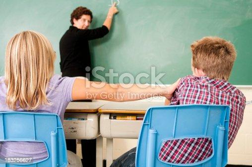 istock School Days: Horsing Around in Class 183256627