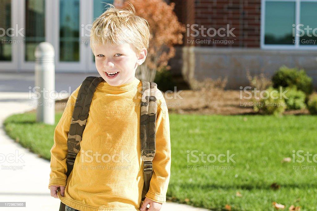 School Days royalty-free stock photo