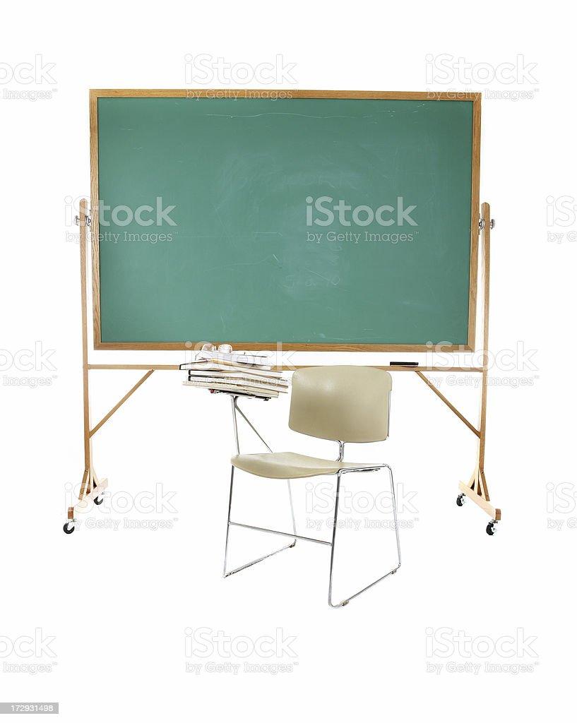 School desk. royalty-free stock photo