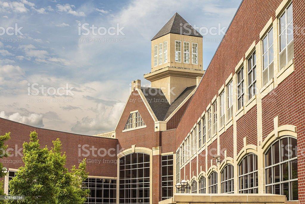 School Entry stock photo