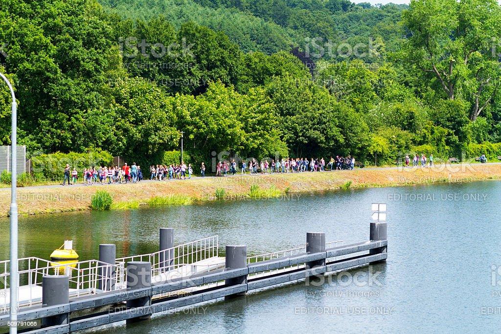 Am See Baldeneysee Schule Exkursion – Foto