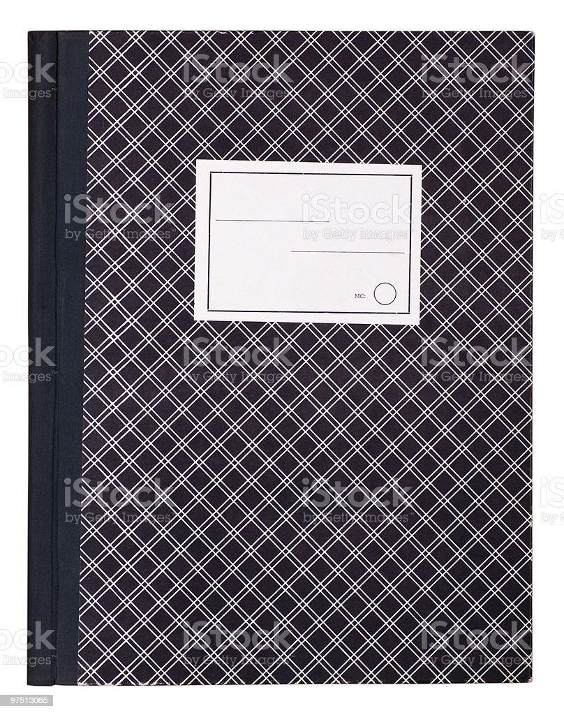 School Folder royalty-free stock photo