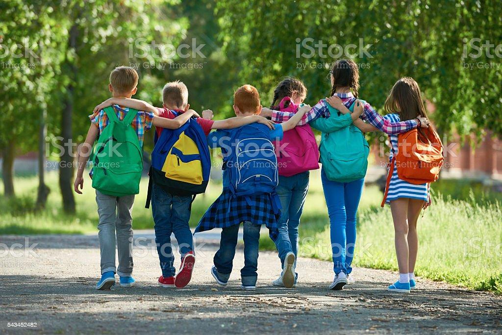 School Freunden – Foto