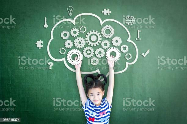 School girl kid student with cloud computing mind smart brain doodle picture id956218374?b=1&k=6&m=956218374&s=612x612&h=rkq bzoritnt wp4butlawiqhrtowxop67lhtlyqzns=