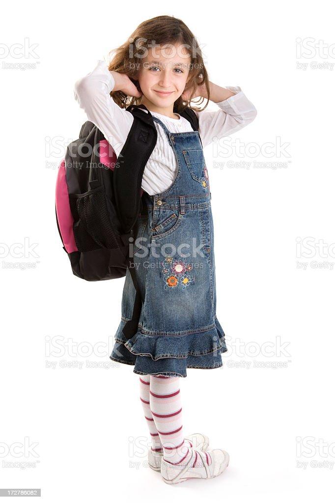 school girl royalty-free stock photo