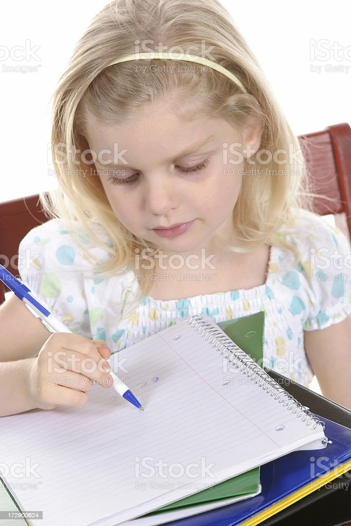 School Girl royalty-free stock photo