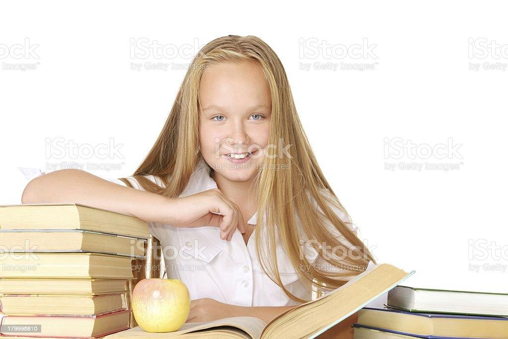 학교 여자아이 royalty-free 스톡 사진