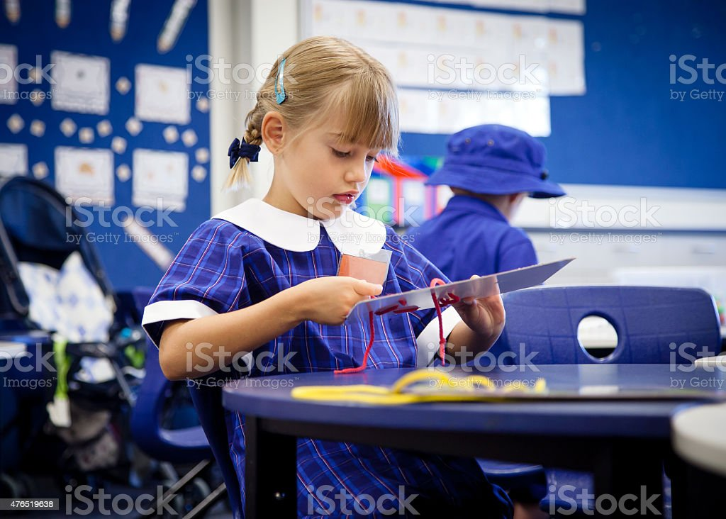 School girl stock photo