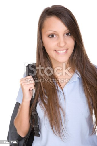 School Girl Stock Photo & More Pictures of Adolescence