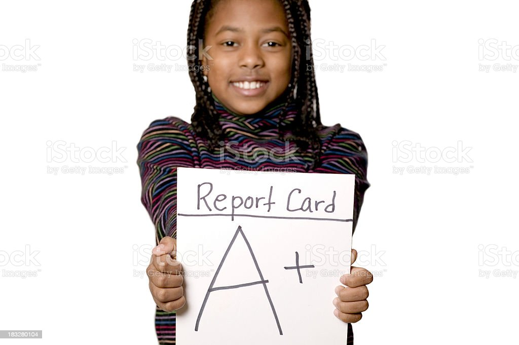 good grades stock photo