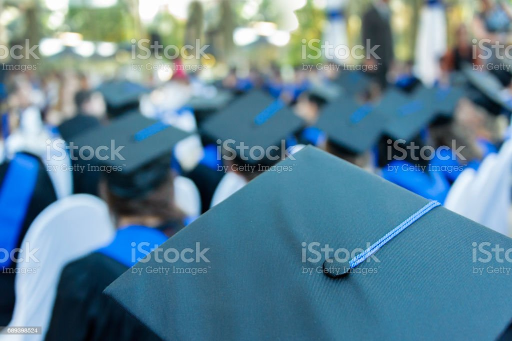 Escuela de graduación - foto de stock