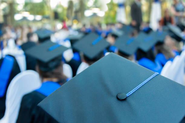School graduation stock photo