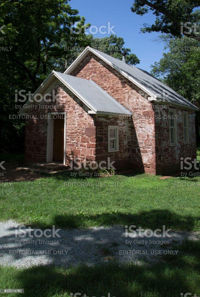 School house stock photo